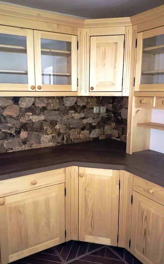 28e27b23af0f Kuchyň na chalupu - NATIV styl - výroba nábytku z masivu